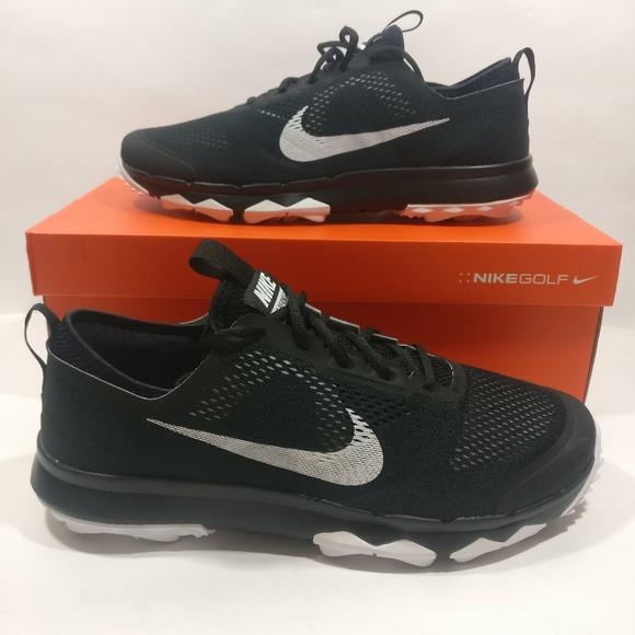 d58af5968a24 Nike FI Bermuda Spikeless Golf Shoes Wide Black